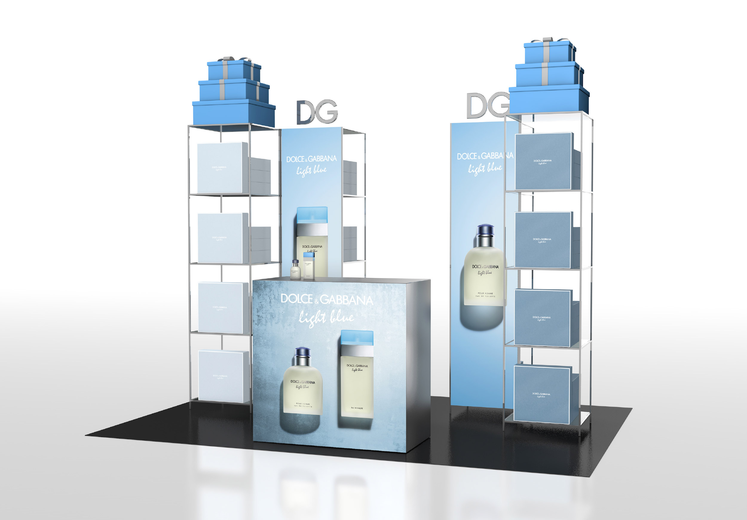 avenew-visual merchandising-pos-amavita-floorstanding-unit